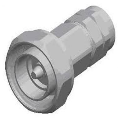 Connector Din-Male Straight for 1/2″ coaxial cable